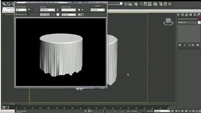 台布建模教程 3DMAX建模
