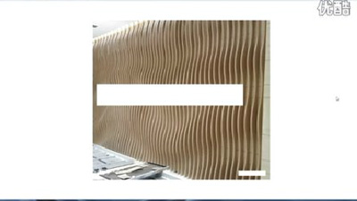 3DMAX异形背景波浪板建模实例